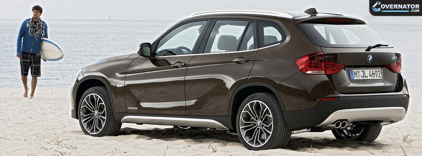 BMW X1 Facebook cover