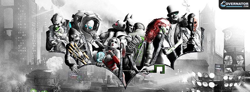 Batman: Arkham City Facebook cover