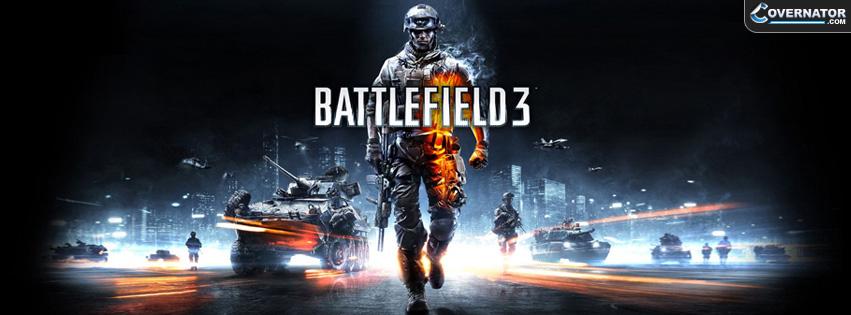 Battlefield 3 Facebook cover