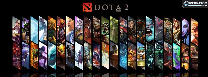 DOTA 2 Facebook cover