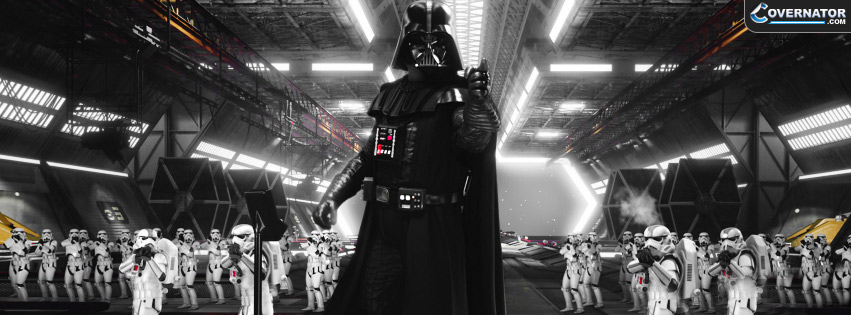 Darth Vader Storm Troopers Facebook cover