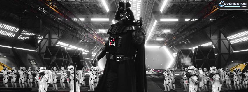 Darth Vader Storm Troopers Facebook cover
