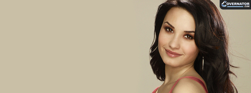 Demi Lovato Facebook cover