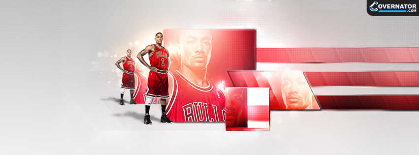 Derrick Rose Facebook cover
