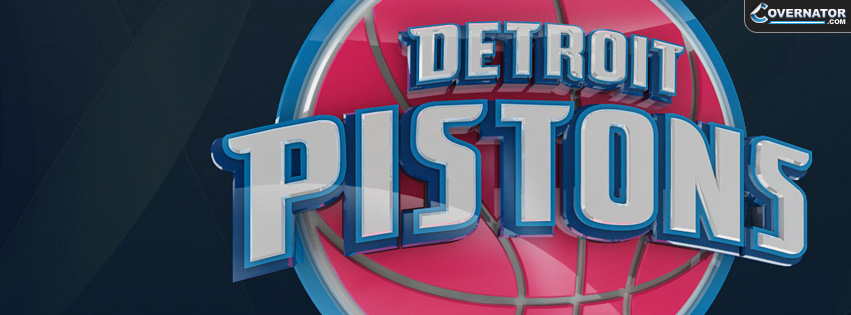 Detroit Pistons Facebook cover
