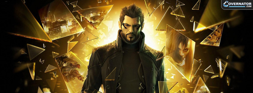 Deus Ex: Human Revolution Facebook cover