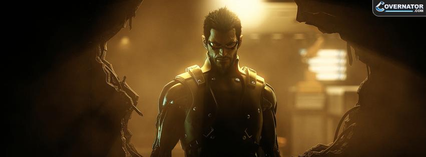 Deus E: Human Revolution Facebook cover