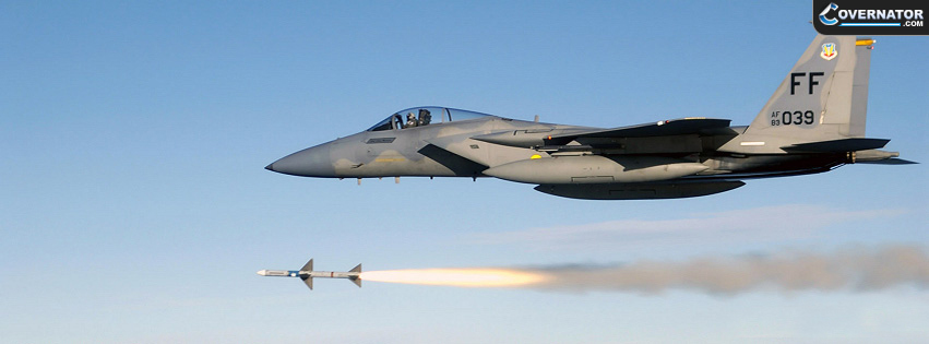 F-15 Eagle Facebook cover