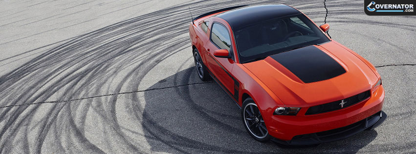 Ford Mustang Facebook Cover