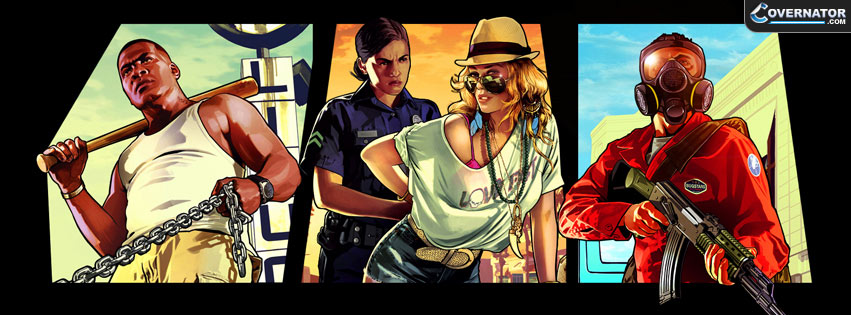 GTA V Facebook cover