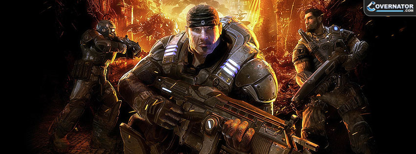 Gears of war Facebook cover