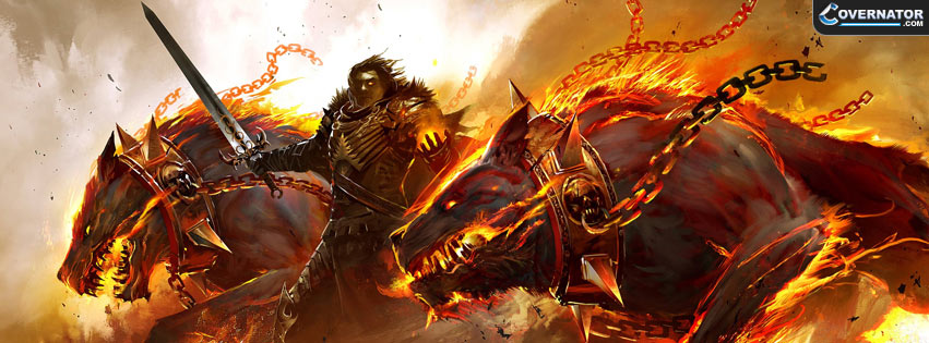 Guild Wars 2 Facebook cover