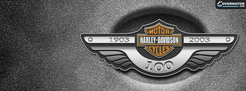 Harley davidson 100 years Facebook cover