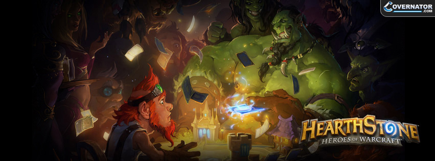 Hearthstone: Heroes of Warcraft Facebook cover