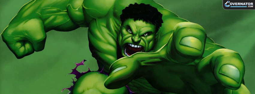 incredible Hulk Facebook cover