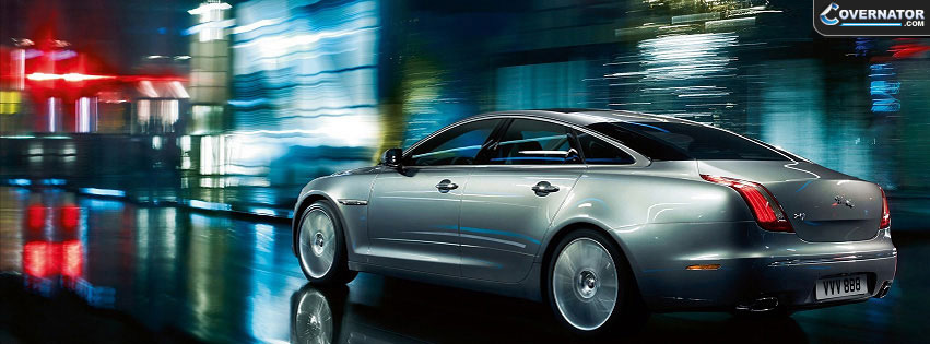 Jaguar XJ Facebook cover
