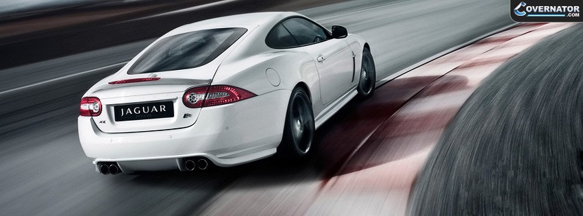 Jaguar XKR Facebook cover