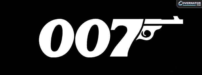James Bond Facebook cover
