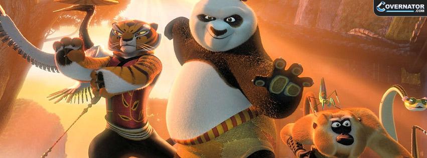 Kung Fu Panda Facebook cover