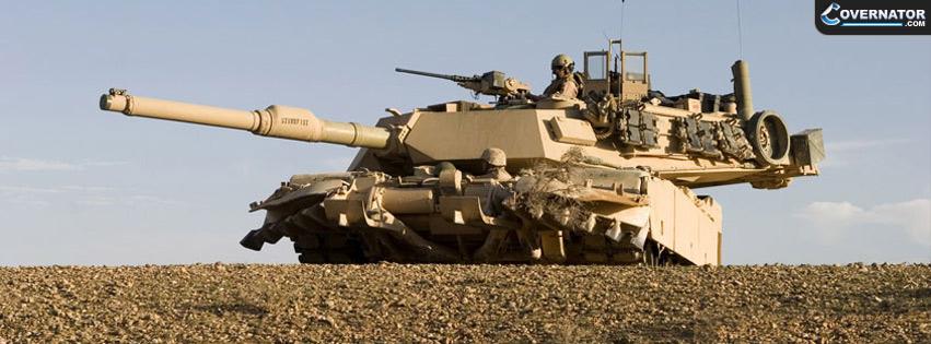 M1 Abrams Tank Facebook cover