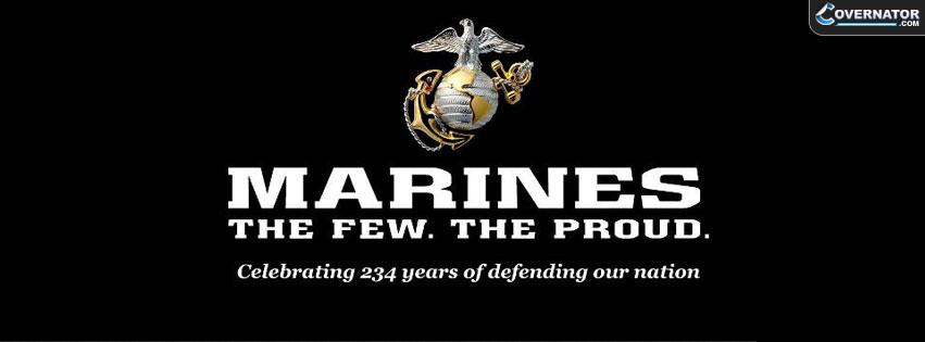 Marines The Few The Proud Facebook cover