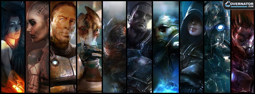 Mass Effect 2 Facebook Cover