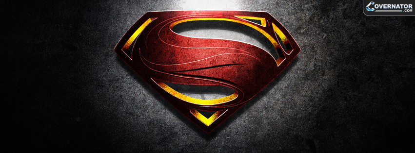 man of steel Facebook cover