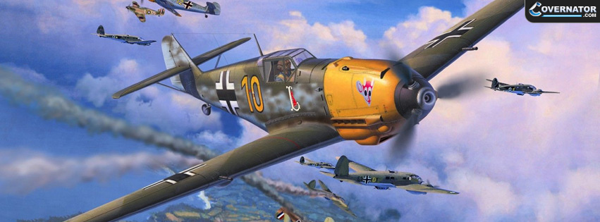 Messerschmitt Bf 109 E-4 Facebook Cover