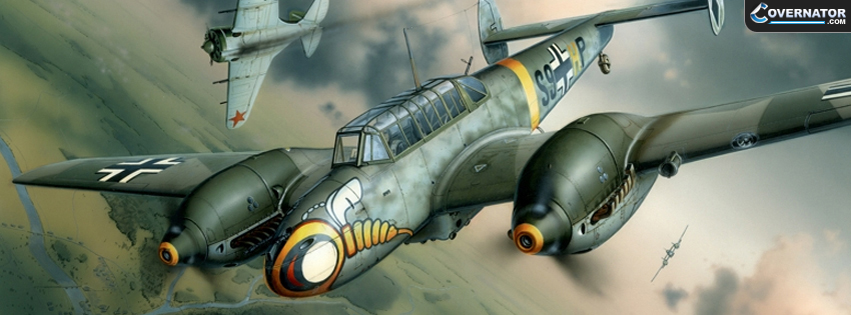 Messerschmitt Bf 110 Facebook cover