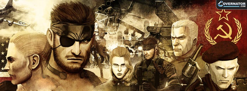 Metal Gear Solid 3: Snake Eater Facebook cover