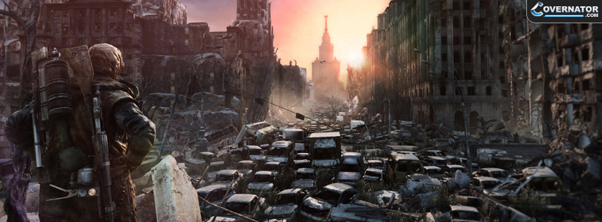 Metro: Last Light Facebook Cover