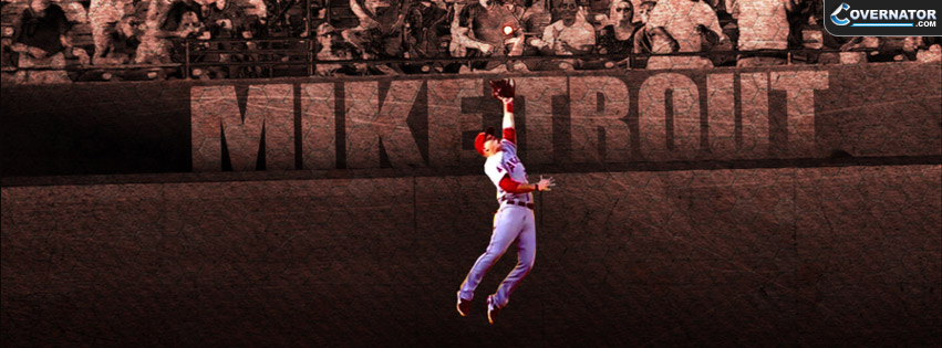 Mike Trout Facebook Cover