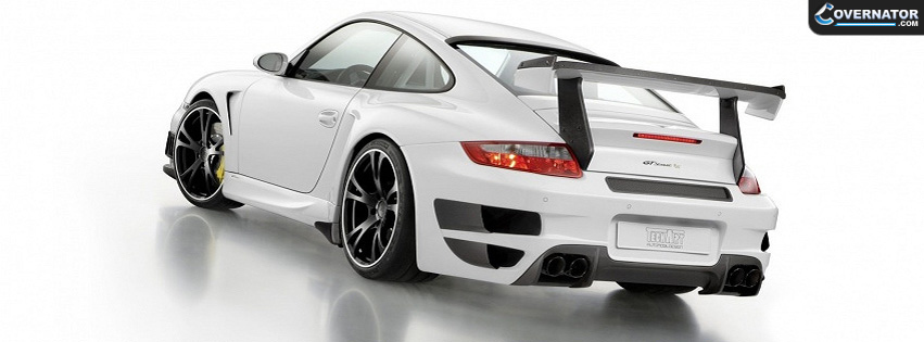 Porsche 911 GT Turbo Techart Facebook cover