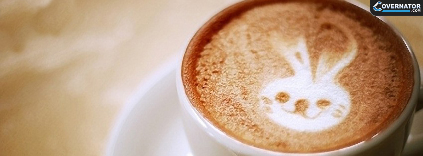 Rabbit Art Coffe Facebook Cover