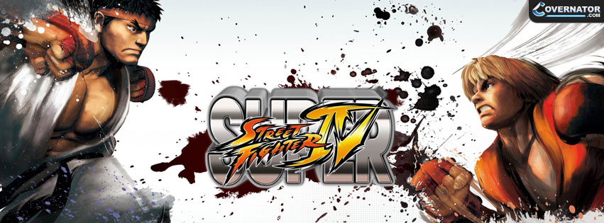 Super Street Fighter IV Facebook Cover