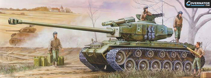 T26E4 Super Pershing Facebook Cover