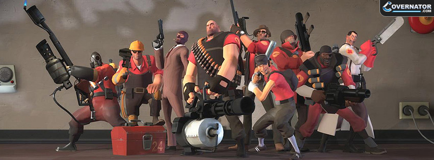 Team Fortress 2 Facebook cover