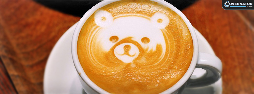 Teddy Bear Coffe Facebook Cover