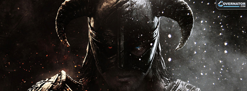 The Elder Scrolls V: Skyrim Facebook cover