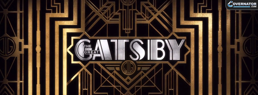 The Great Gatsby Facebook cover