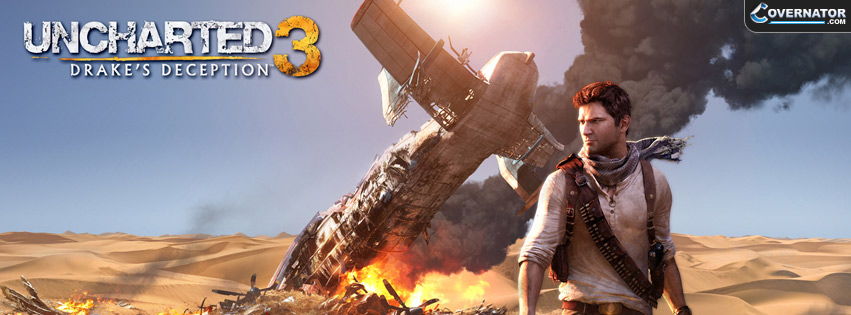 Uncharted 3 Facebook Cover