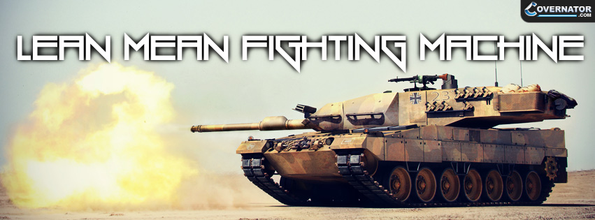 lean mean fighting machine Facebook cover