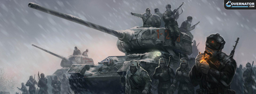 Company of heroes 2 Facebook cover