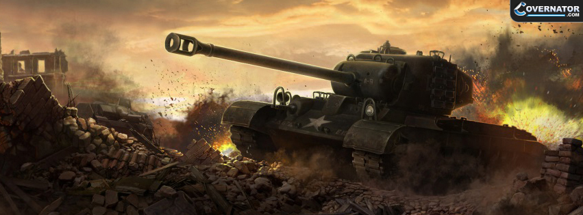 M26 Pershing Heavy Tank Facebook cover