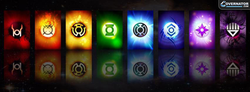 Green Lantern Facebook Cover