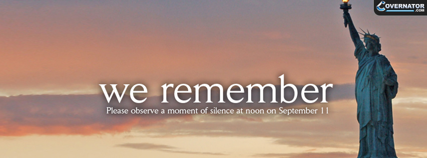 We remember Facebook cover
