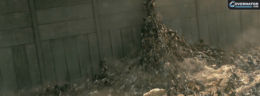 World War z Facebook cover