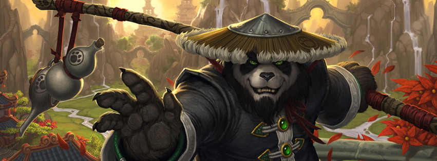 Mists Of Pandaria Facebook Cover