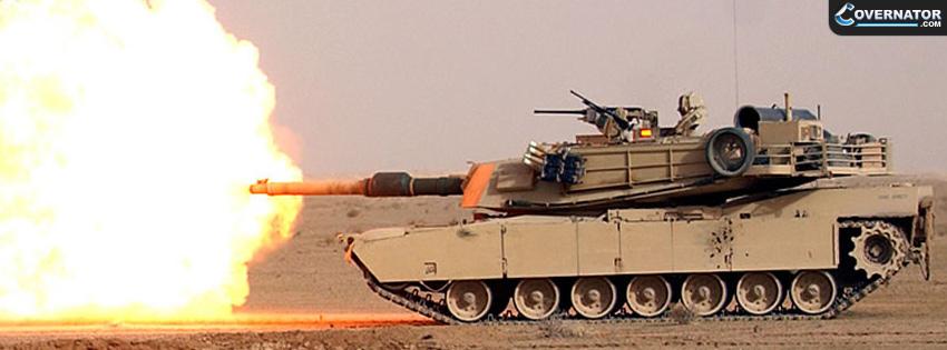 American m1 Abrams Facebook Cover