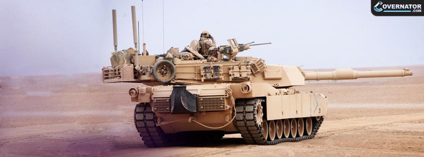 Abrams tank Facebook cover
